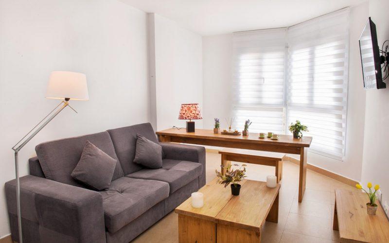 DOS DORM ESTANDAR,alquiler de calidad Sierra nevada,edificio Miramar Ski, www.apartamentosierranevada.net